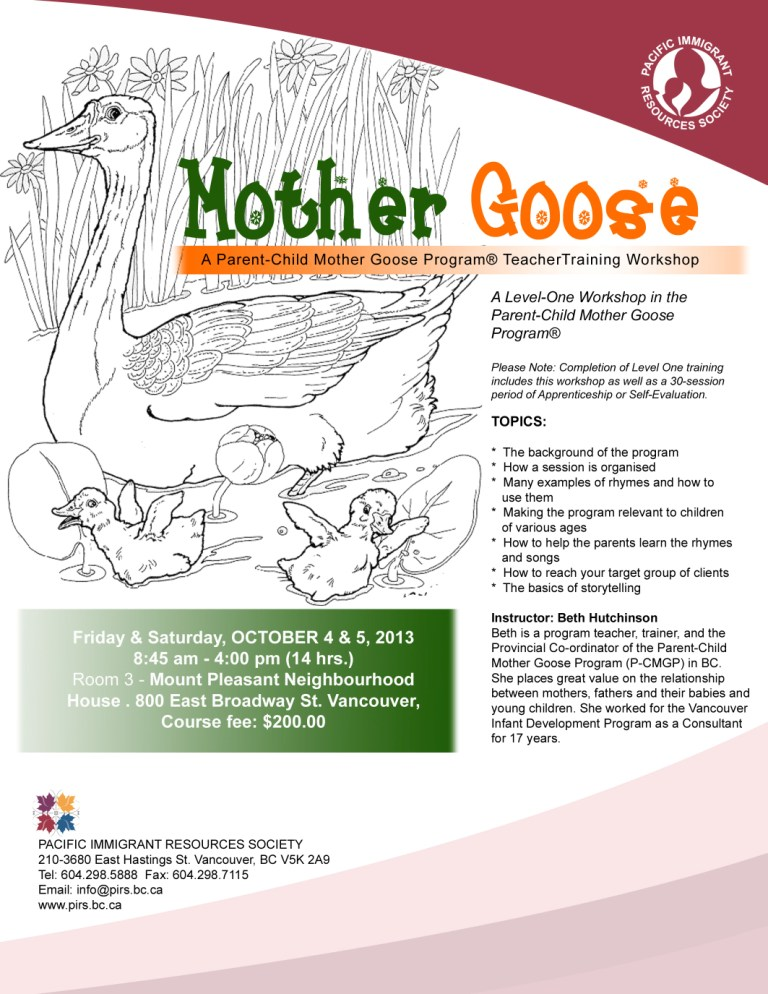 Mother Goose Web