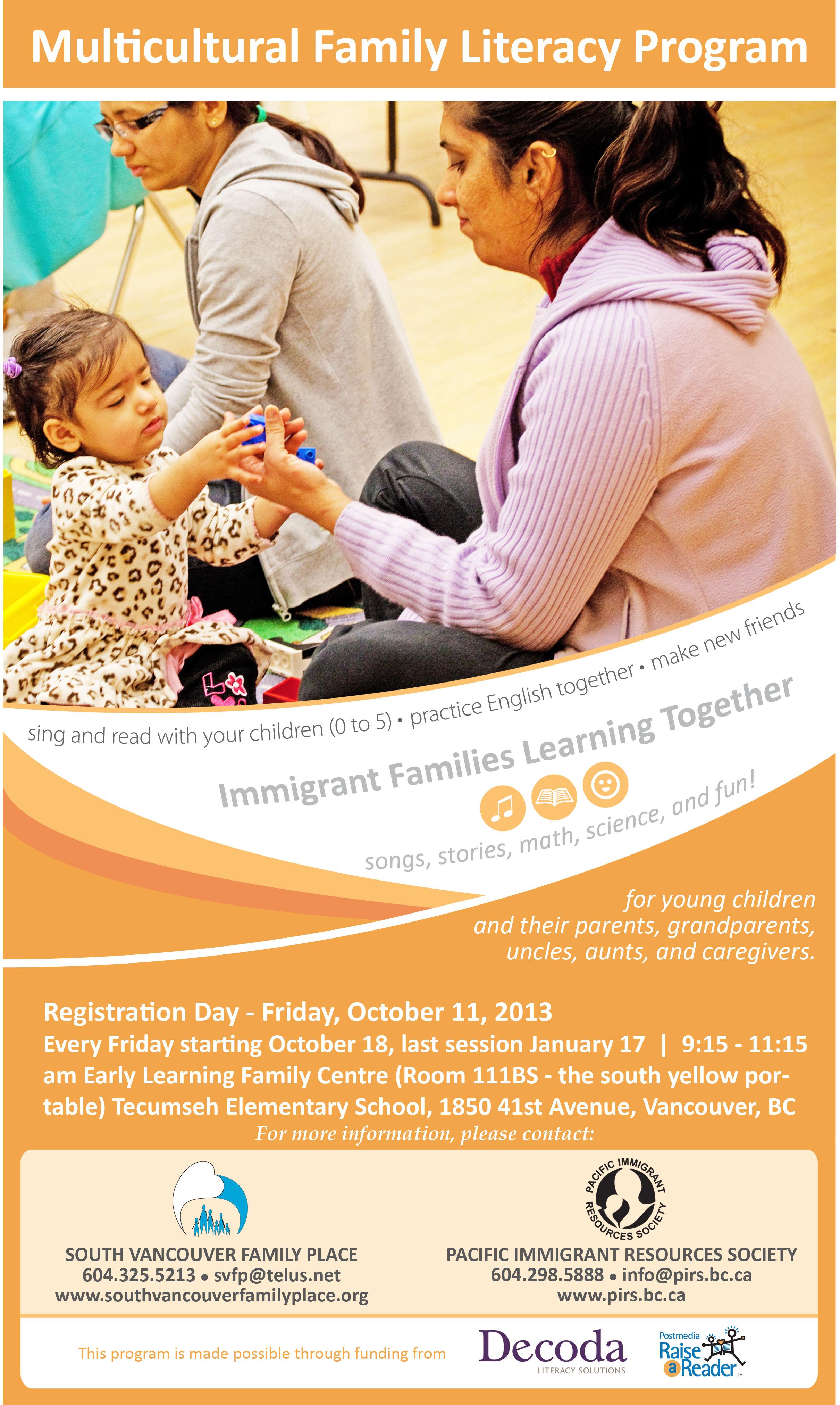 multicultural flyer
