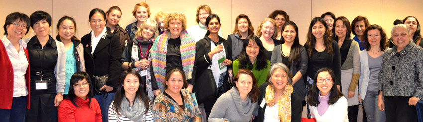 Attendees at the January 15th IWNT session.